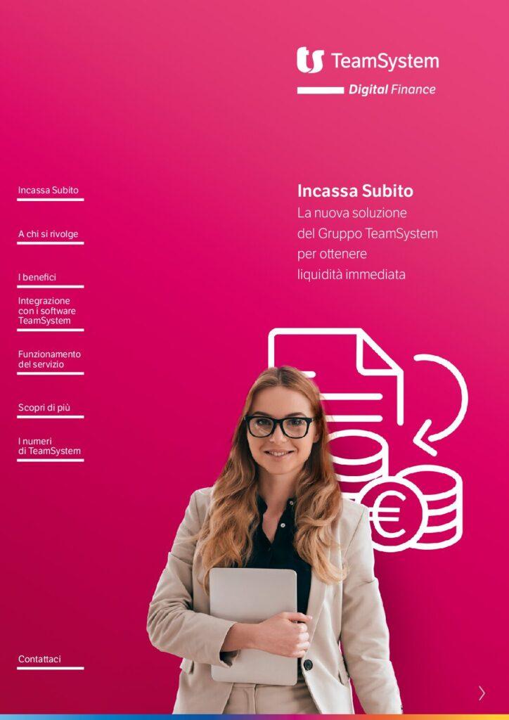 TeamSystem Digital Finance – Incassa Subito